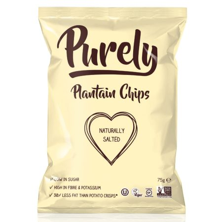 Purely Plantain Chips Naturally Salted 75gr