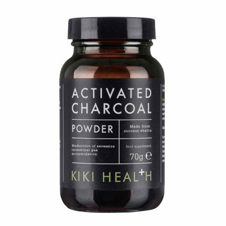 Kiki Health Activated Charcoal 50 hylki