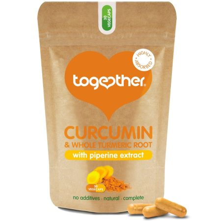Together Vegan Túrmerik / Curcumin 30 hylki