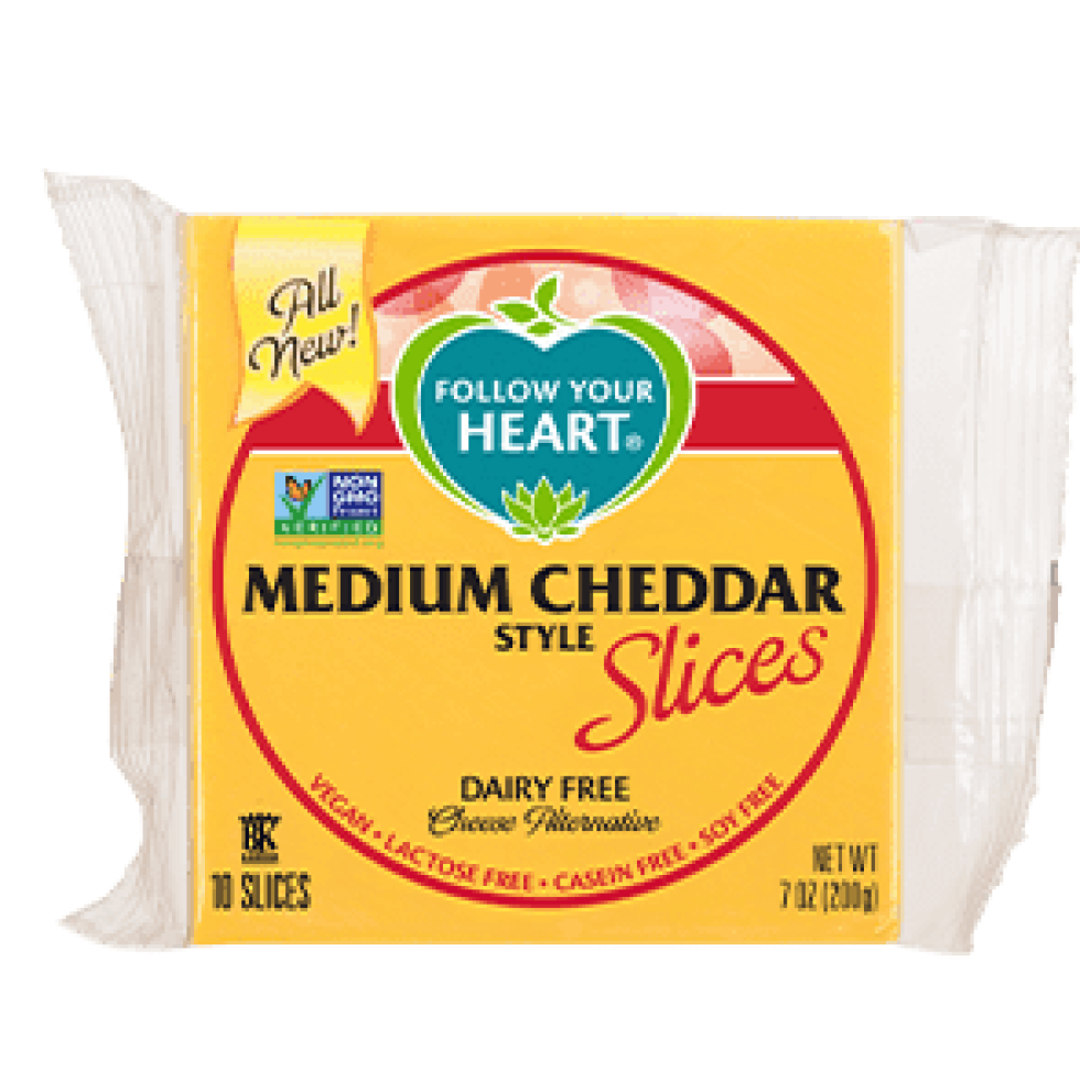 Follow Your Heart Vegan Ostur Cheddar 200gr