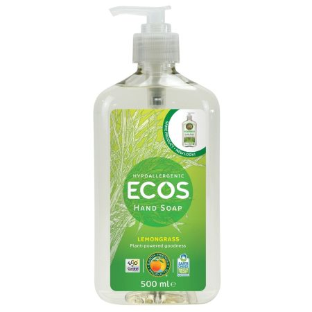ECOS Handsápa Lemongrass 500ml