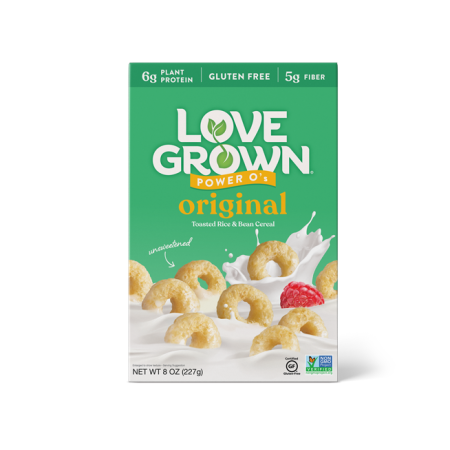 LoveGrown Power O's Morgunkorn 227gr