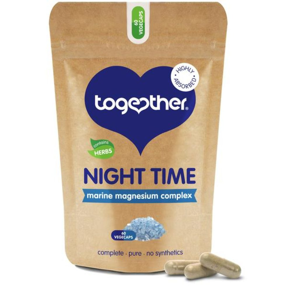 Together Night Time Vegan Magnesíumblanda 60 hylki