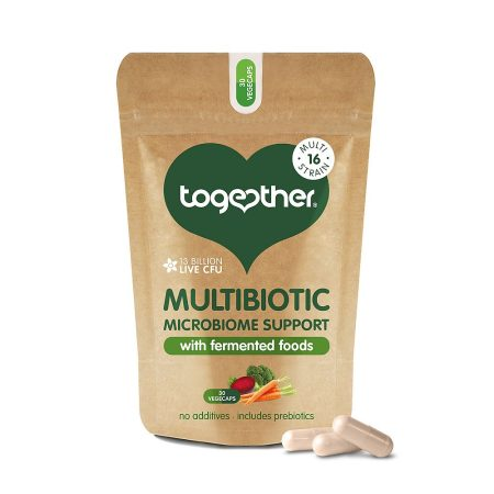 Together Vegan Gerlablanda Multibiotic 30 hylki