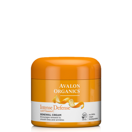 Avalon Organics Intense Defense Næturkrem 57gr