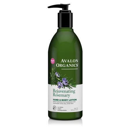 Avalon Organics Rosemary Hand & Body Lotion 340gr