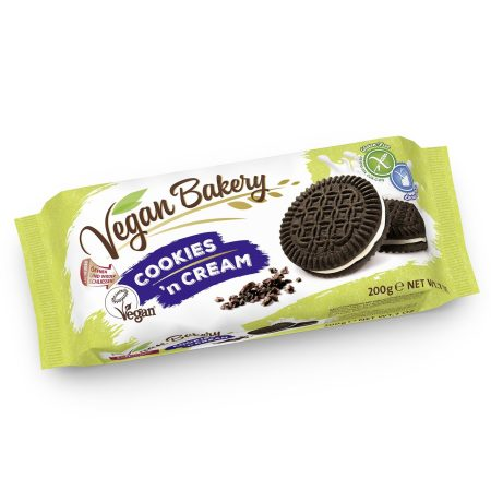 Vegan Bakery Kremkex Cookies'n Cream 200gr