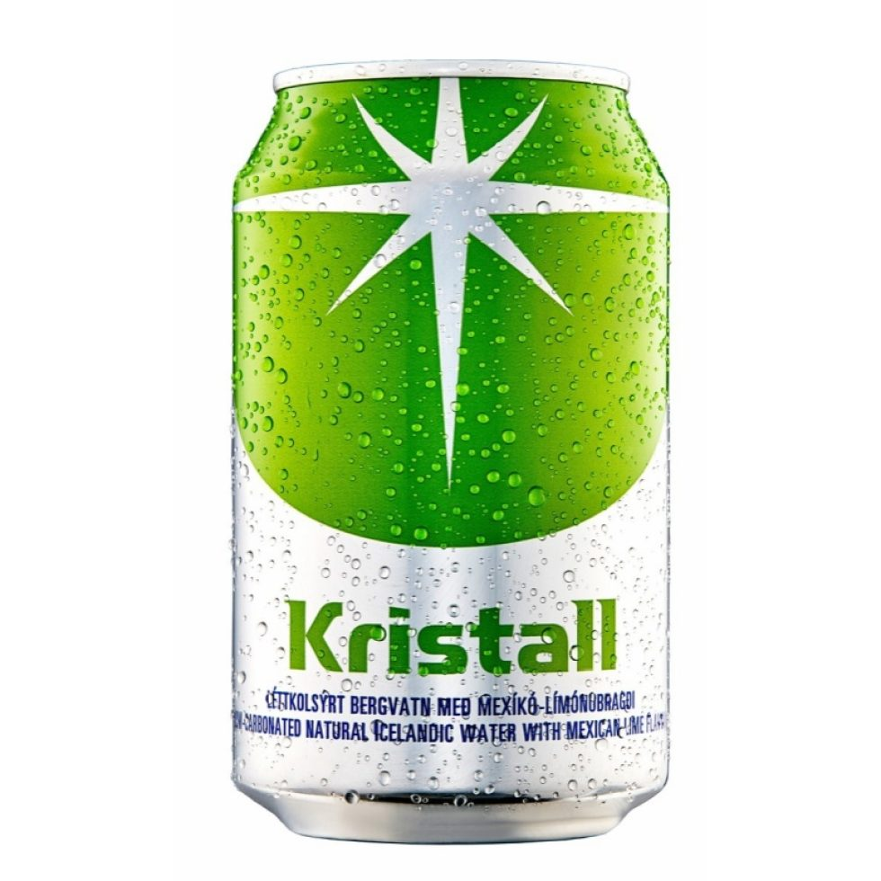 Kristall Mexico Lime Í Dós 330ml