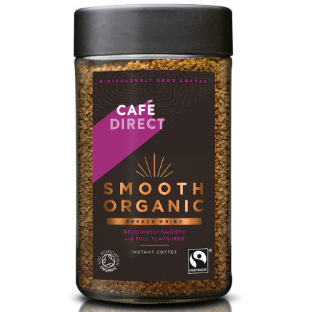 Café Direct Instant Kaffi Smooth Organic 100gr