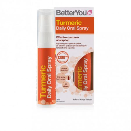 BetterYou Túrmerik Munnúði 25ml